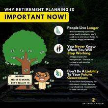 Retirement Planning instagram post