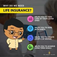 Purpose of Life Insurance infographic