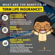 Benefits of Term Life insurance Instagram post
